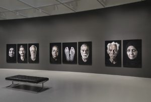 Installation view: Facing History by Shirin Neshat