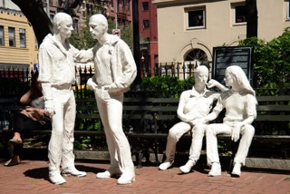 Gay Liberation by George Segal