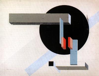 Proun N 89 (Kilmansvaria) by El Lissitzky