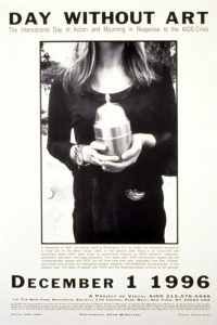 Bearing Witness Day Without Art 1996 poster