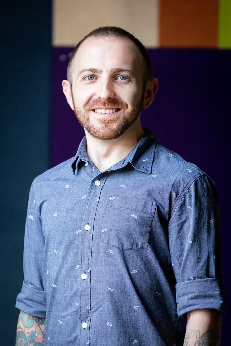 Photo of Matt Mauk, photography by Sarah Maughan.