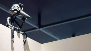 Photograph of Sculpture installation art by Jaime Jacobson