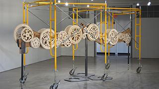Installation art by Derek Kiesling.